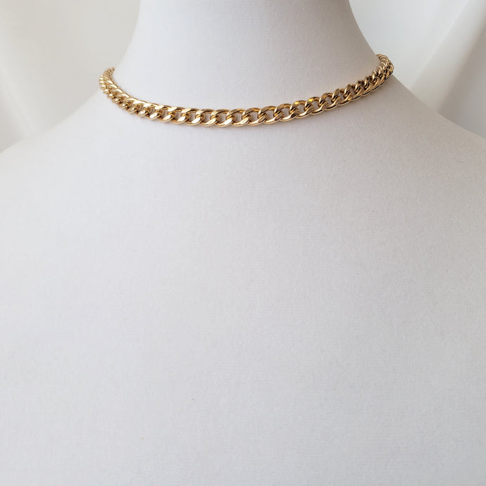 7.2mm Curb Chain Necklace - 50% off with code CURB50