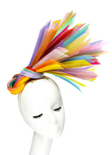 RAINBOW - Knotted Crinoline Headpiece