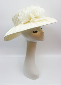 Covered Bridal Hat