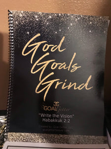 Goal Getter's God Goals Grind Journal