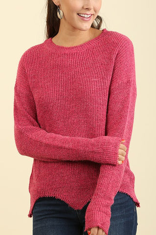 Alex Asymmetrical Sweater - ReservedChic