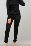 Black Jogger Knit Set - ReservedChic