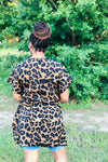 Wild Leopard Print High Low Top - ReservedChic