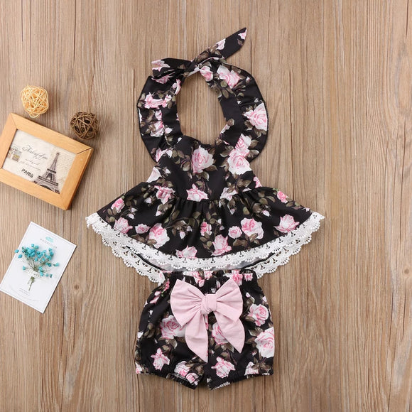Gianna Set - Toddler girl's set 2 pcs (top + short ) - © 2019, Life Is'Bella / NEYSOUTH LLC.