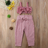 Samantha Set  - Toddler girl's summer set (2 pcs) - © 2019, Life Is'Bella / NEYSOUTH LLC.