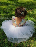 White Floral Tulle Dress - © 2019, Life Is'Bella / NEYSOUTH LLC.