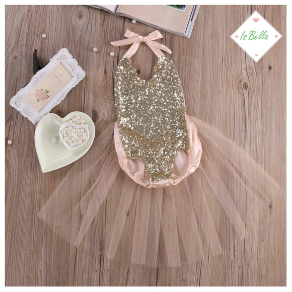 Baby Sequin Bodysuit - © 2019, Life Is'Bella / NEYSOUTH LLC.