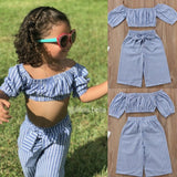 Hannah Set - Toddler girl's summer set (2 pcs) - © 2019, Life Is'Bella / NEYSOUTH LLC.