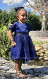 Toddler Kids Fancy Blue Dress - © 2019, Life Is'Bella / NEYSOUTH LLC.