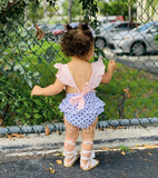 Baby Girl Ruffled Backless Romper - © 2019, Life Is'Bella / NEYSOUTH LLC.