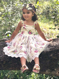 Girl's Flower Print Dress - © 2019, Life Is'Bella / NEYSOUTH LLC.