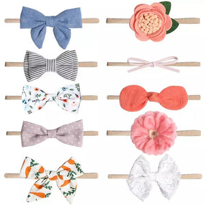 baby headbands (10 pcs) - © 2019, Life Is'Bella / NEYSOUTH LLC.
