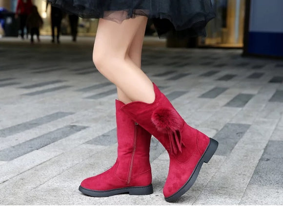 Red Velvet Girl's Boots - © 2019, Life Is'Bella / NEYSOUTH LLC.