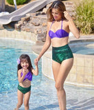 Mother Daughter Matching Mermaid Swimwear - © 2019, Life Is'Bella / NEYSOUTH LLC.