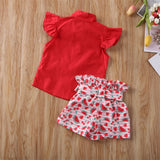 Danna Set - Toddler girl's set 2 pcs (top + short ) - © 2019, Life Is'Bella / NEYSOUTH LLC.