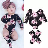 Infant Baby Girl Floral Long Sleeve Bodysuit - © 2019, Life Is'Bella / NEYSOUTH LLC.