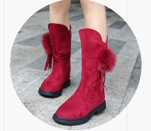 Girl's Red Boots - © 2019, Life Is'Bella / NEYSOUTH LLC.