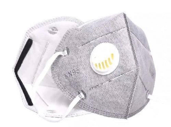 Face Mask KN95 Dustproof Windproof Respirator valve mask
