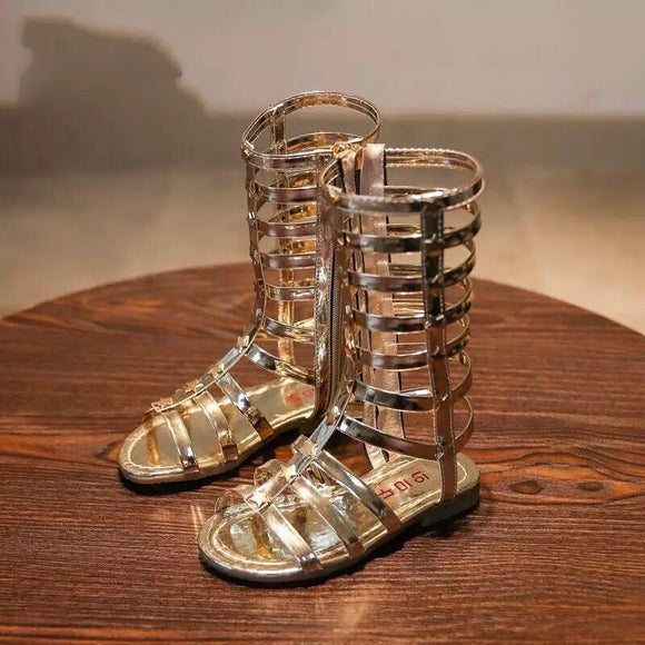 Kid's Gladiator Sandals - © 2019, Life Is'Bella / NEYSOUTH LLC.