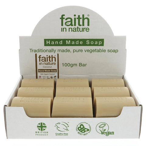 Faith Jabon de Coco 100g
