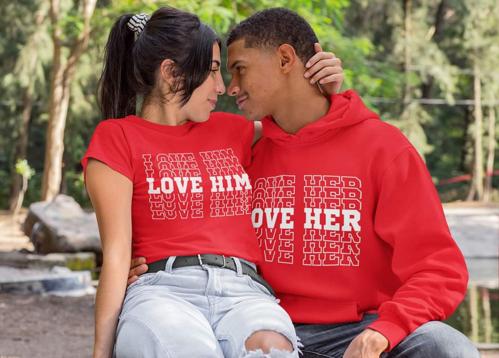 Love Him/Love Her **Tshirts ONLY**