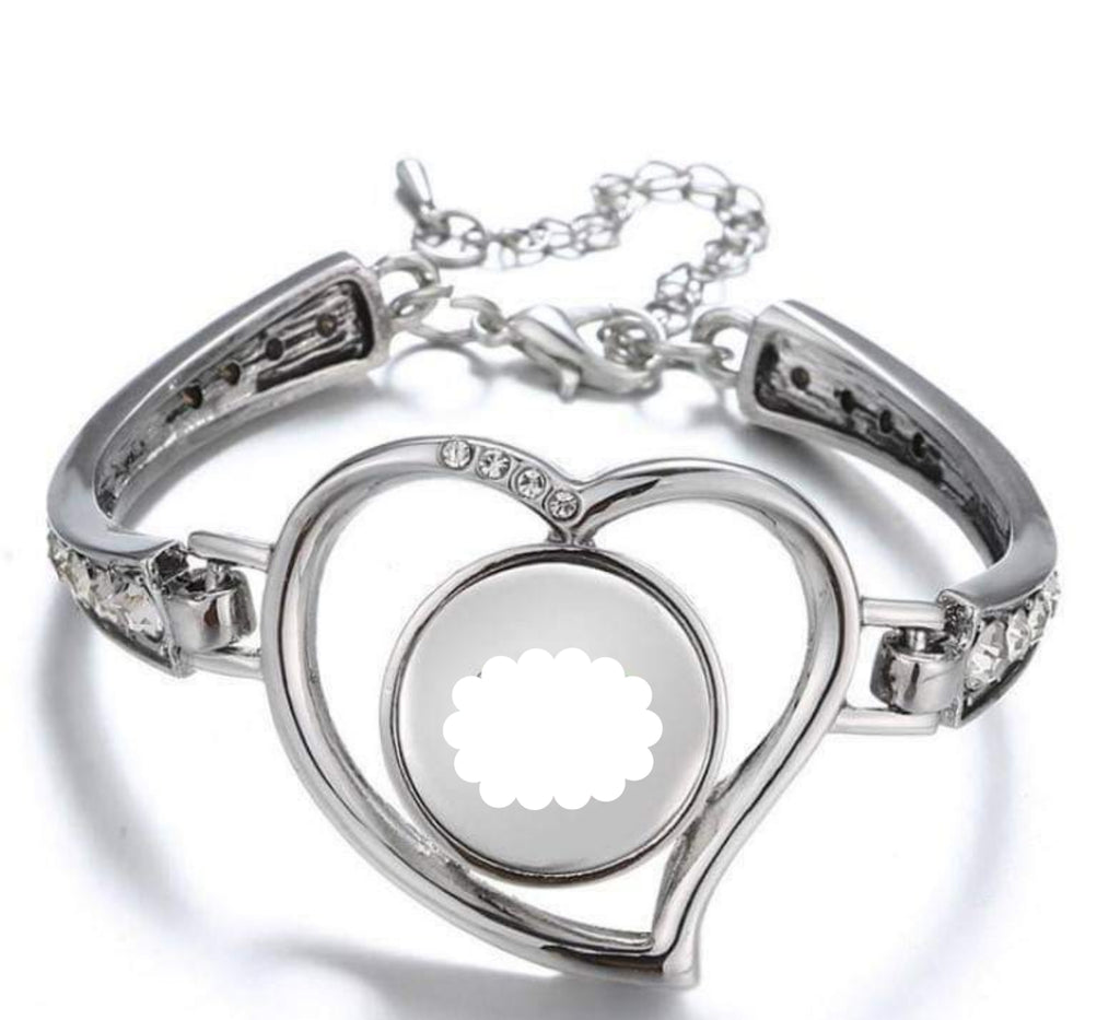 Heart Bracelet (Silver and/or Rose Gold)