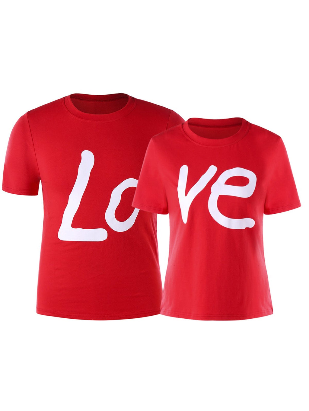 Matching LOVE shirts