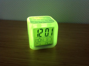 Color Changing LED Clock (For Sublimation)