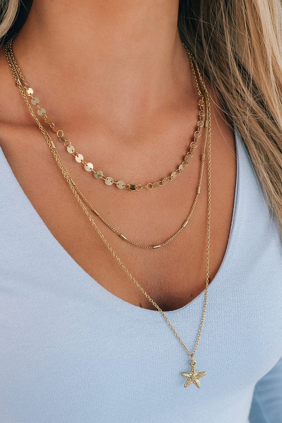 Emely Gold Layered Necklace