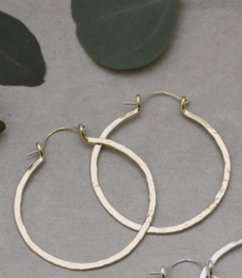 Ariande Primitive Hoops Gold