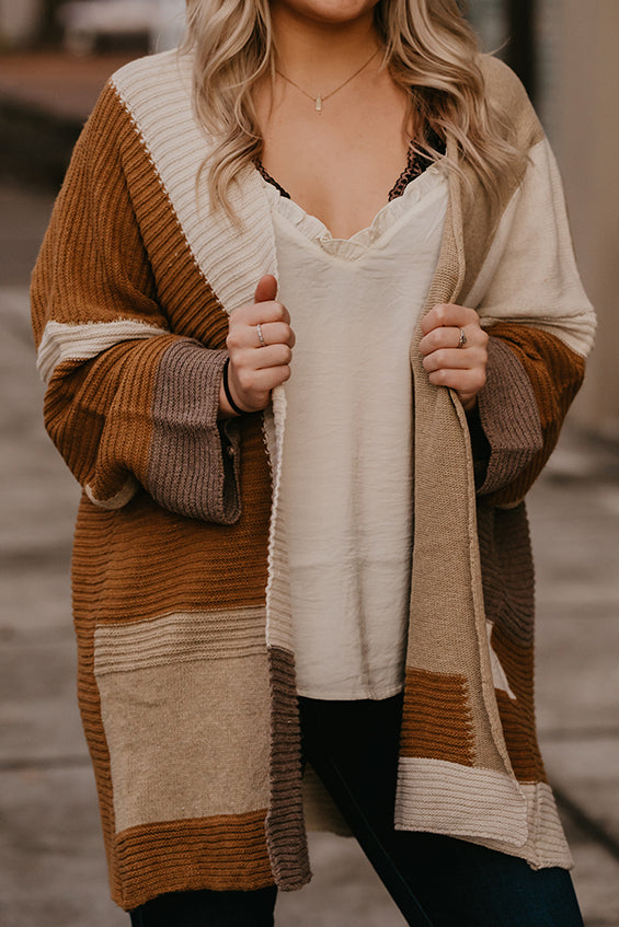 Cecilia Color Block Cardigan