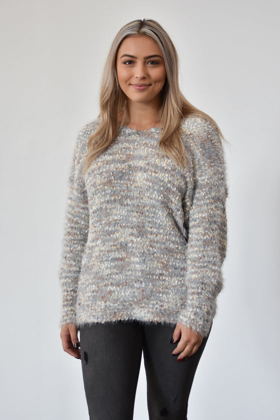 Arielle Twist Back Sweater