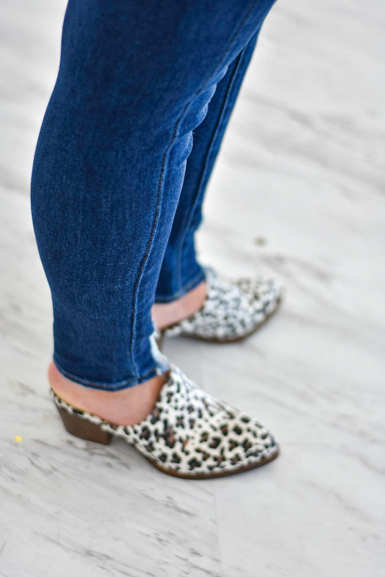 Mollie Mules in Leopard