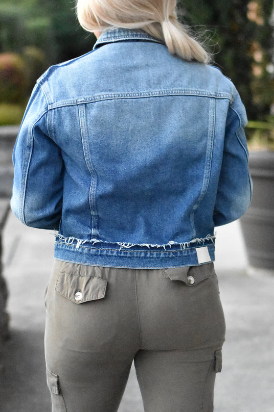 Joanna Dark Denim Jacket