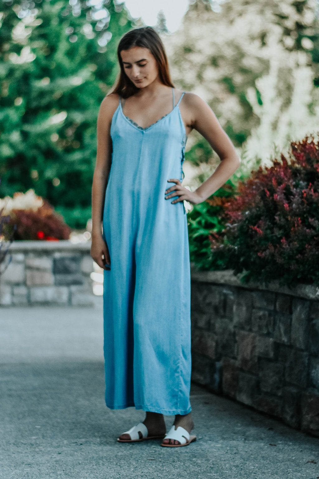 Ariana Chambray Jumpsuit