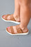 Maia Croc Slip on Sandals