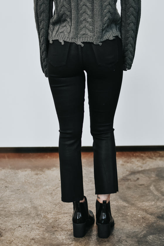 Thea High Rise Coated Jeans