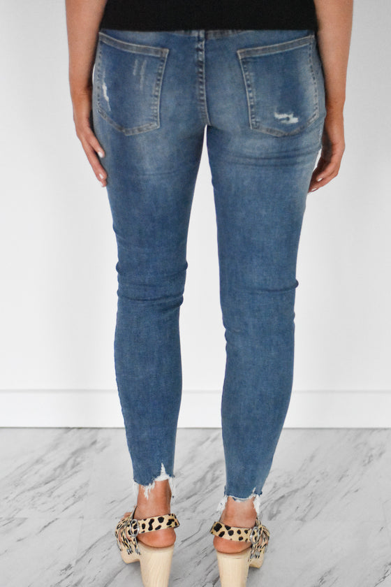 Dallas Mid Rise Skinny Jeans