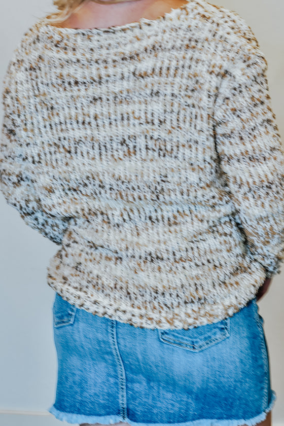 Emerson Beige Multi Sweater