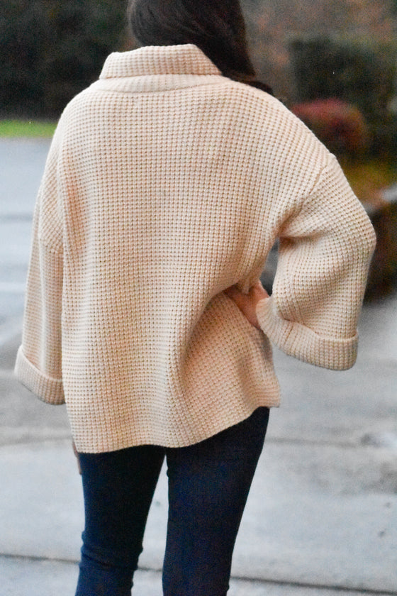 Haley Knit Wide Sleeve Sweater