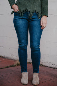 Harmony Dark Blue Wash Jeans
