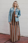 Helen Stripe Maxi Dress
