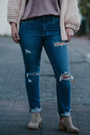 Henri Medium Wash Boyfriend Jeans