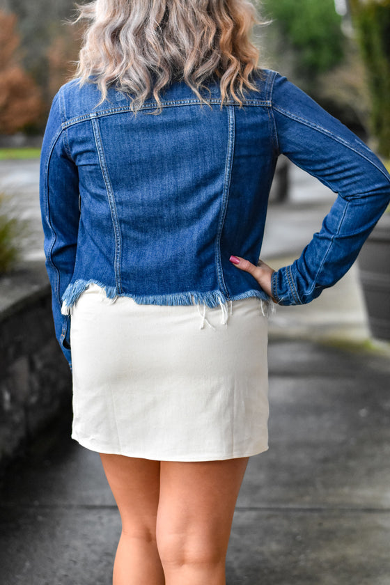Holly Pattern Mini Skirt