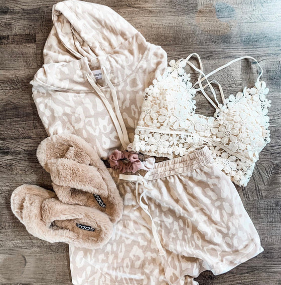 Kailee Daisy Bralette in Cream