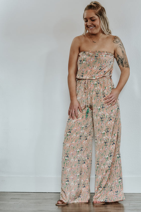 Jessica Blush Jumpsuit