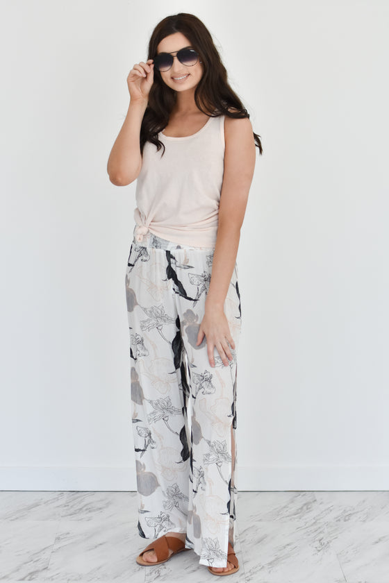 Kelly Floral Pants