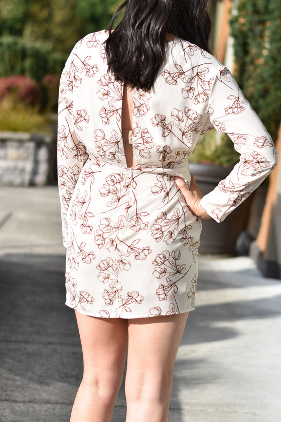 Lilliana Floral Short Dress