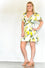 Madelyn Wrap Lemon Dress