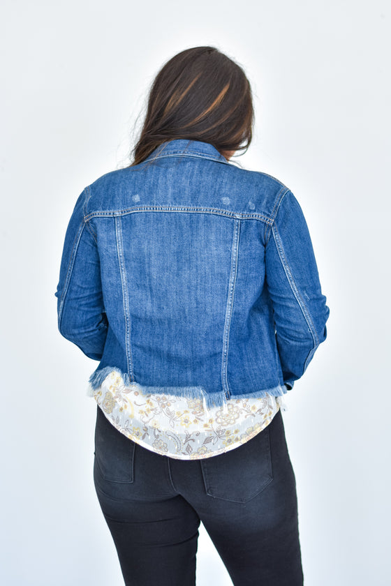 Marlee Dark Denim Jacket